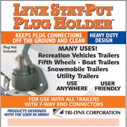 Picture of Tri-Lynx Stay-Put Plug Holder Stay Put Plug Holder 8200B 19-0134
