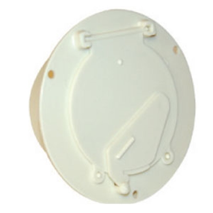 Picture of Zebra  Colonial White Cable Hatch Access Door MA-207-CW 19-0191