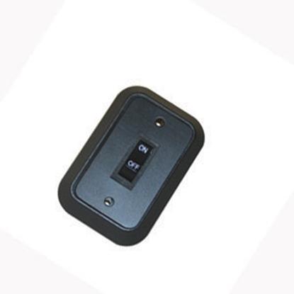 Picture of JRV Products  Single Rocker Switch W/Bezel A8976RBL 19-0217