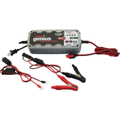 Picture of Noco  110-120V 12-Step 7.2/3.6A Battery Charger G7200 19-0328
