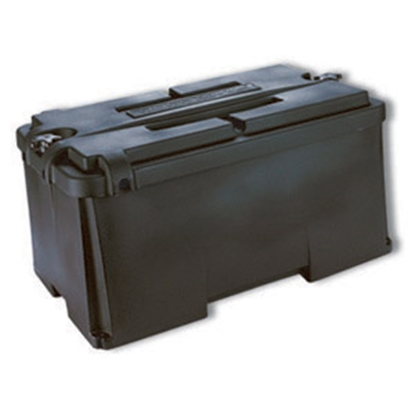 Picture of Noco  Black Group 4D Vented Battery Box With Lid HM408 19-0331