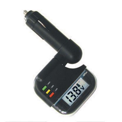 Picture of Prime Products  Digital Display Battery Monitor w/LED Indicators 12-2020 19-0350