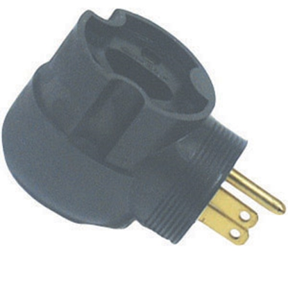 Picture of Surge Guard Surge Guard (R) 30F/15M 90 Deg Power Cord Adapter 095245508 19-0360
