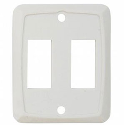 Picture of Diamond Group  3-Pack Ivory Double Opening Switch Plate Cover P7258 19-0388