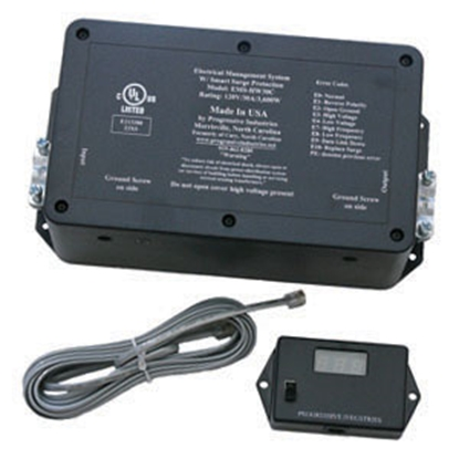 Picture of Progressive Industries  30A/240V Hardwire Surge Protector EMS-HW30C 19-0443