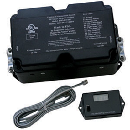 Picture of Progressive Industries  50A/240V Hardwire Surge Protector EMS-HW50C 19-0444