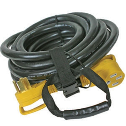 Picture of Camco Power Grip (TM) 30' 50A Extension Cord w/Plug Head Handle 55195 19-0488