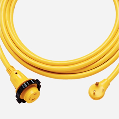 Picture of Marinco Power+Plus 30' 30A Locking Extension Cord 30SPP.RV 19-0523