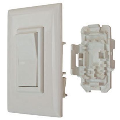 Picture of Diamond Group Decor (R) White 125V/ 15A Rocker Switch 52595 19-0568