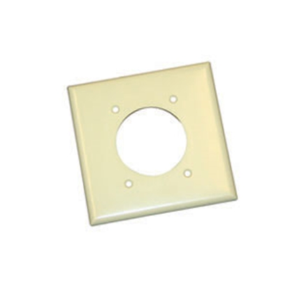 Picture of Cooper Wire Arrow Hart Ivory Square Receptacle Cover 2168V-BOX 19-0632