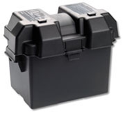 Picture of Noco Snap-Top Black Dual 6V Group Vented Battery Box HM300BK 19-0740