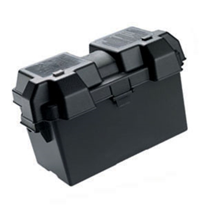 Picture of Noco Snap-Top Black Group 24 To 31 Vented Battery Box HM318BK 19-0745