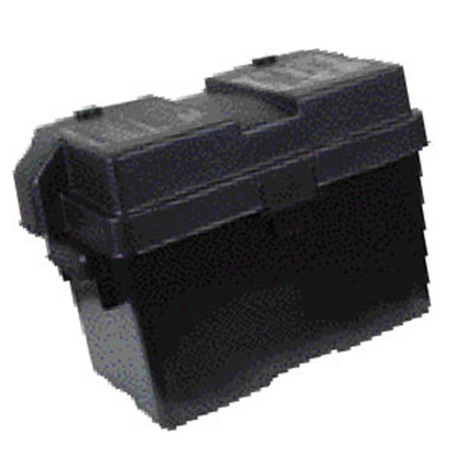 Picture of Noco Snap-Top Black Group 27 Vented Battery Box HM327BK 19-0748