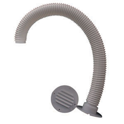 """Picture of MTS  Colonial White Battery Box Vent Kit w/ 30"""" Hose 273 19-0777"""