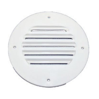 Picture of MTS  Polar White Outside Battery Box Vent 312 19-0842