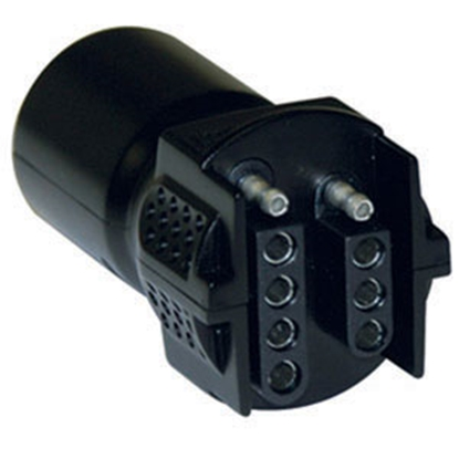 Picture of Hopkins Plug In Simple (TM) 7-Blade To 5 & 4 Flat Trailer Wiring Connector Adapter 47385 19-0871