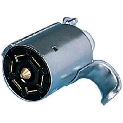 Picture of Bargman  7-Way Blade Trailer End Trailer Connector w/o Wire Lead 50-57-007 19-0907