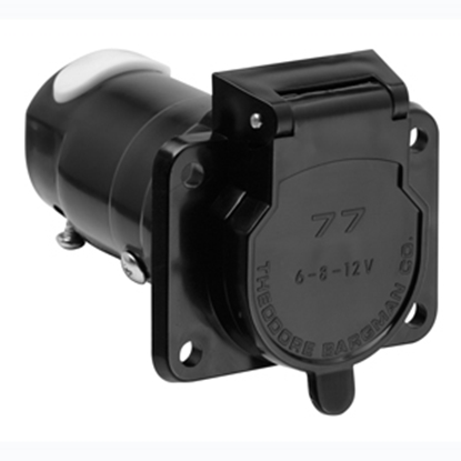 Picture of Bargman  7-Way Blade Car End Trailer Connector w/o Wire Lead 54-77-001 19-0928
