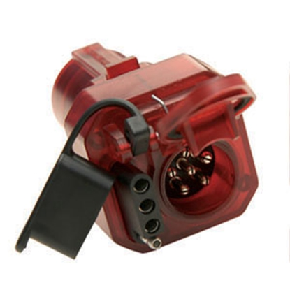 Picture of Hopkins Multi Tow (R) 7-Blade To 6 & 4 Trailer Wiring Connector Adapter 47585 19-1191