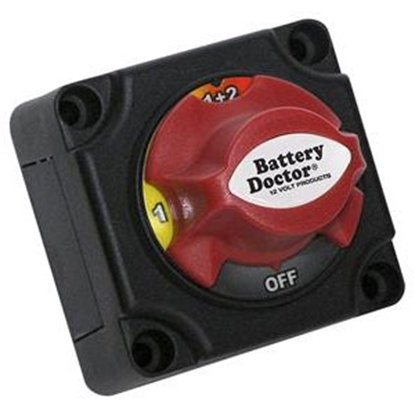 Picture of Battery Doctor Battery Doctor (R) Rotary Dial Battery Disconnect Switch 20393 19-1195