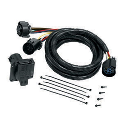 Picture of Tow-Ready Trailer Wiring Connector Kit 7-Blade Trailer Wiring Connector Adapter w/7' Cable 20110 19-1268