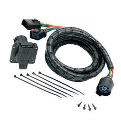 Picture of Tow-Ready Trailer Wiring Connector Kit 7-Blade Trailer Wiring Connector Adapter w/7' Cable 20111 19-1269