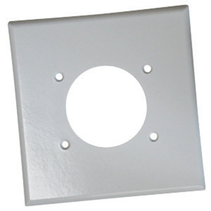 Picture of Diamond Group  White 30 amp Receptacle Cover 52399 19-1355