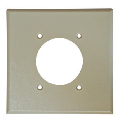 Picture of Diamond Group  Ivory 30 amp Receptacle Cover 52398 19-1359