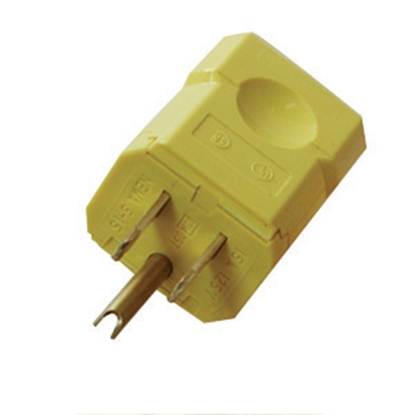 Picture of Diamond Group  Male Yellow 3-Wire Quick Connect 52496 19-1367