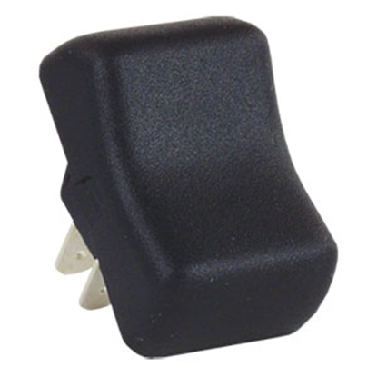 Picture of JR Products  Black 125V/ 16A SPST Rocker Switch 14075 19-1617
