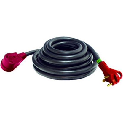 Picture of Mighty Cord  25' 30A Extension Cord w/Finger Grip Handle A10-3025EH 19-1772