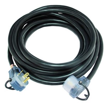 Picture of Mighty Cord  25' 30A Extension Cord w/Finger Grip Handle A10-3025EHLED 19-1773