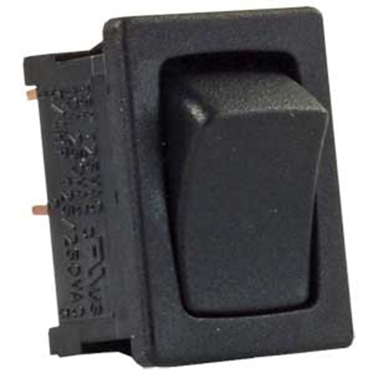 Picture of JR Products  5-Pack Black 12V SPST Rocker Switches 12781-5 19-1907