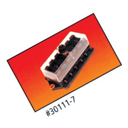Picture of Battery Doctor  6-Way ATO/ATC Blade Fuse Block w/Cover 30111 19-1994