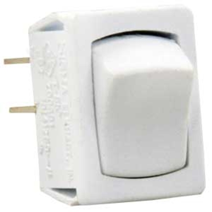 Picture of JR Products  5-Pack White 125-250V/ 16A SPST Rocker Switches 13641-5 19-2044