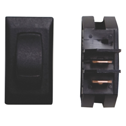 Picture of Diamond Group  1-Piece Black SPST Rocker Switch B1-18 NC 19-2064