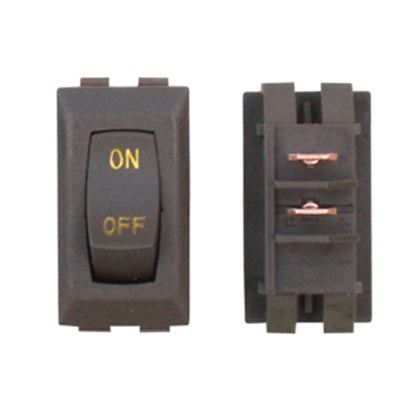 Picture of Diamond Group  1-Piece Brown SPST Rocker Switch B1-52U-315GC 19-2067