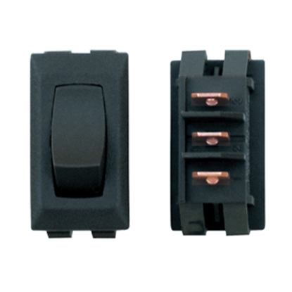 Picture of Diamond Group  1-Piece Black SPST Rocker Switch C1-26-UC 19-2069