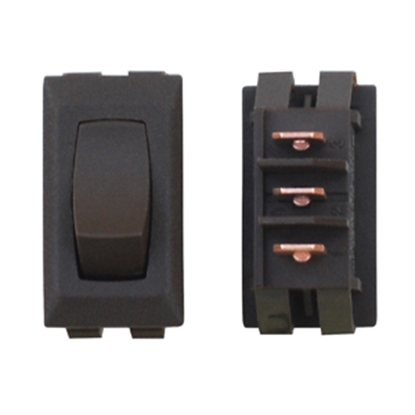 Picture of Diamond Group  1-Piece Brown SPST Rocker Switch C1-53-UC 19-2071