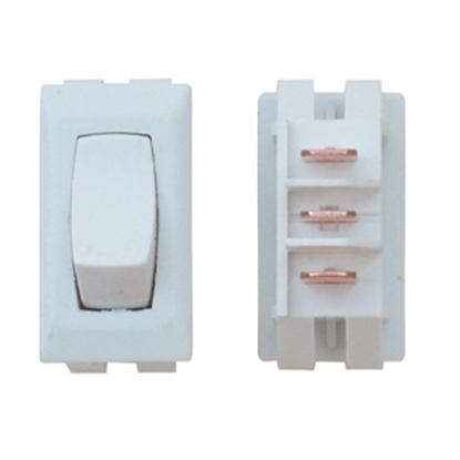 Picture of Diamond Group  1-Piece Ivory SPST Rocker Switch C1-86-UC 19-2072