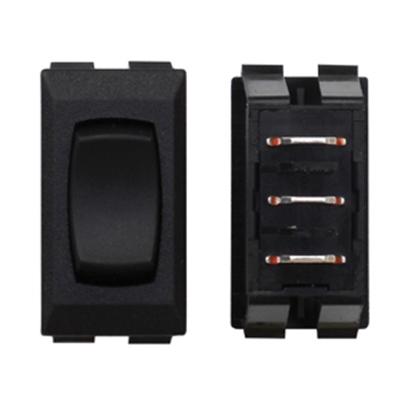 Picture of Diamond Group  Black 13A/125V 3-Pin SPST Momentary Slide Out Switch F1-12C 19-2074