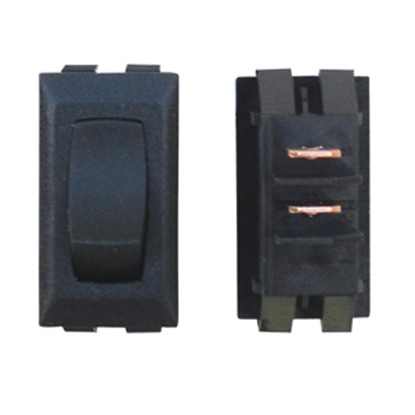 Picture of Diamond Group  Black 125V/ 13A SPDT Rocker Switch For Monitor Dash Panel G1-11UC 19-2077