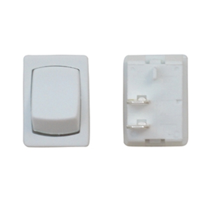 Picture of Diamond Group  White 125V/ 16A SPST Mini Rocker Switch For Water Pumps B2-56C 19-2082