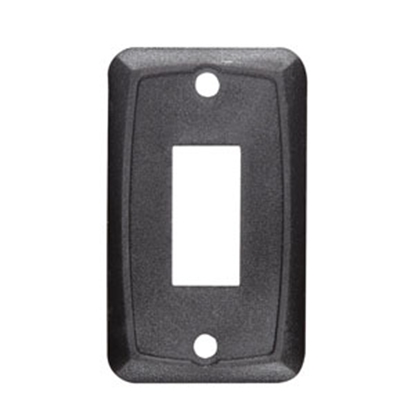 Picture of RV Designer  Black Single Switch Mounting Plates S385 19-2465