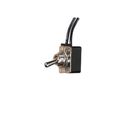 "Picture of RV Designer  On/Off W 6"" lead 8A Toggle Switch S721 19-2483"