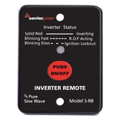 Picture of Samlex Solar  Inverter Remote Control for Samlex SA/ SK/ ST Series w/10' Cable S-R8 19-2516