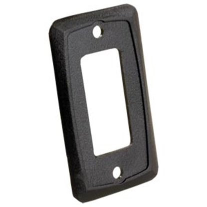 Picture of JR Products  Black Furniture Switch Faceplate 13935 19-2608