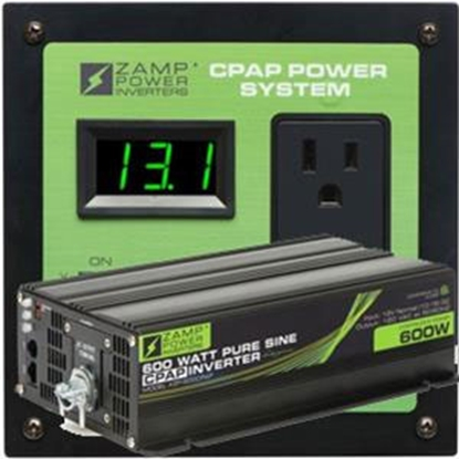 Picture of Zamp Solar  600W 5A Inverter ZS-600-CPAP-PS 19-2744