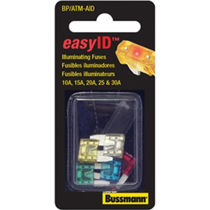 Picture of Bussman easyID ATM Blade Fuse Holder w/o Fuse BP/ATM-FHID 19-2746