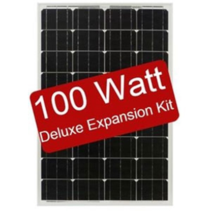 Picture of Zamp Solar  100W 5.6A Flexible Expansion Solar Kit ZS-EX-100F-DX 19-2770